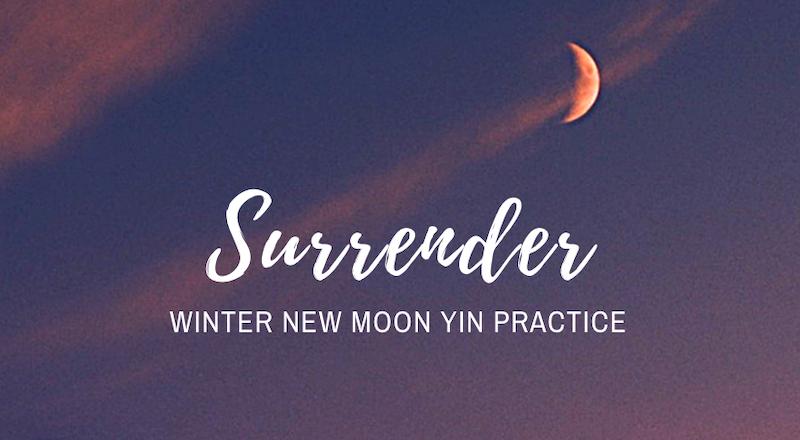 Winter New Moon Yin | 18 July