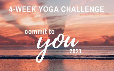 4-Week Yoga Challenge 2021